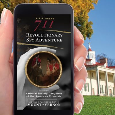 Agent 711: Revolutionary Spy Adventure App, George Washington's Mount Vernon, Cortina Productions