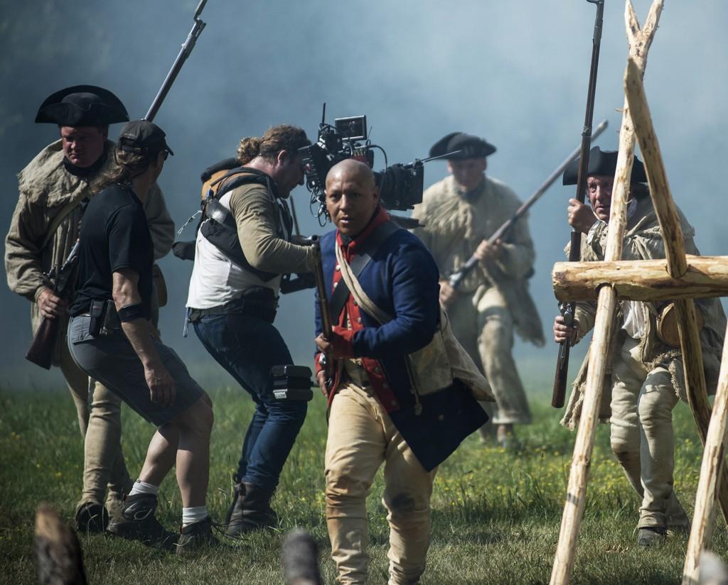 Production Shoot American Revolution