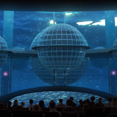 Aquarium of the Pacific, Pacific Visions, Cortina Productions