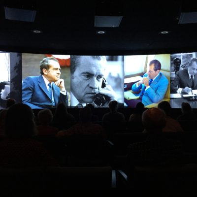 Richard Nixon Presidential Library and Museum, Cortina Productions